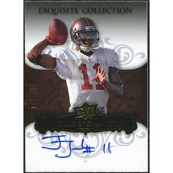 2008 Upper Deck Exquisite Collection #103 Josh Johnson Autograph /150