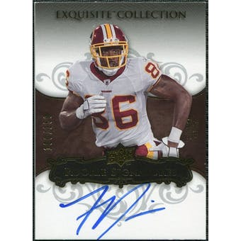 2008 Upper Deck Exquisite Collection #124 Fred Davis RC Autograph /150