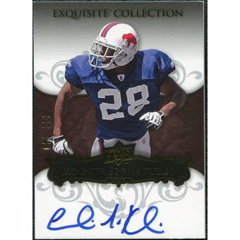 2008 Upper Deck Exquisite Collection #138 Leodis McKelvin Autograph /150