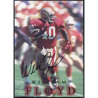 1996 SkyBox Premium Autographs #A3 William Floyd