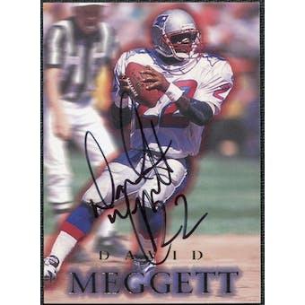 1996 SkyBox Premium Autographs #A5 Dave Meggett