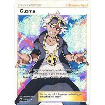Pokemon Burning Shadows Single Guzma 143/147 FULL ART - NEAR MINT (NM)