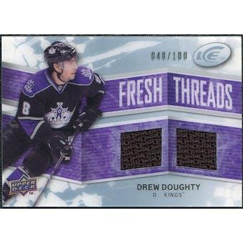 2008/09 Upper Deck Ice Fresh Threads Parallel #FTDD Drew Doughty /100