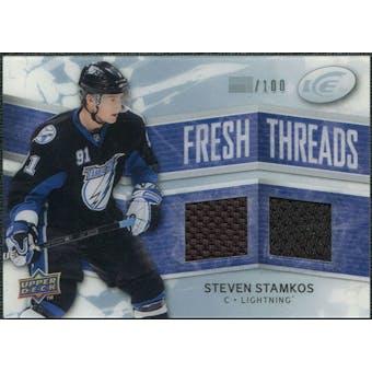 2008/09 Upper Deck Ice Fresh Threads Parallel #FTSS Steven Stamkos /100