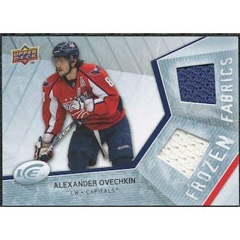 2008/09 Upper Deck Ice Frozen Fabrics #FFOV Alexander Ovechkin
