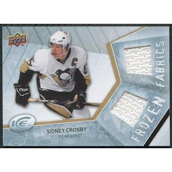 2008/09 Upper Deck Ice Frozen Fabrics #FFSC Sidney Crosby