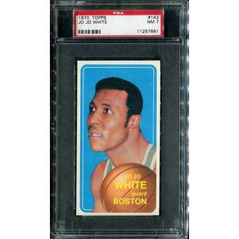 1970/71 Topps Basketball #143 Jo Jo White PSA 7 (NM) *7661