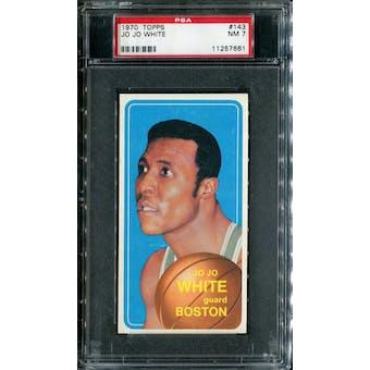 1970/71 Topps Basketball #143 Jo Jo White PSA 7 (NM) *7661