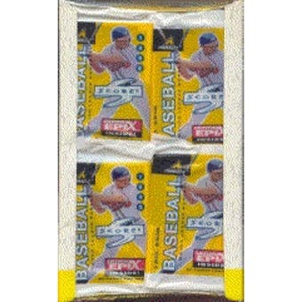 1998 Score Baseball Jumbo Box