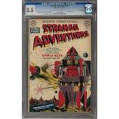 Strange Adventures #3 CGC 8.5 (OW-W) Bethlehem Pedigree *1132545004*