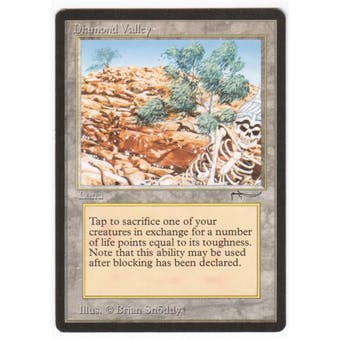 Magic the Gathering Arabian Nights Single Diamond Valley - NEAR MINT (NM)