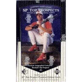 1998 Upper Deck SP Top Prospects Baseball Hobby Box