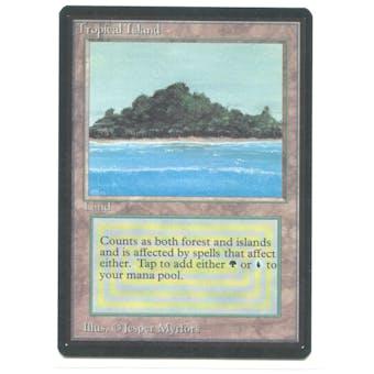 Magic the Gathering Beta Single Tropical Island - NEAR MINT (NM)