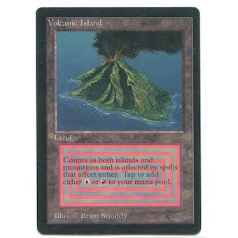 Magic the Gathering Beta Single Volcanic Island - NEAR MINT (NM)