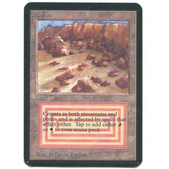 Magic the Gathering Alpha Single Plateau - NEAR MINT (NM)