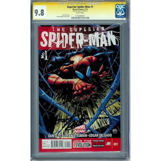 Superior Spider-Man #1 CGC 9.8 Stan Lee Signature Series (W) *1147384011*