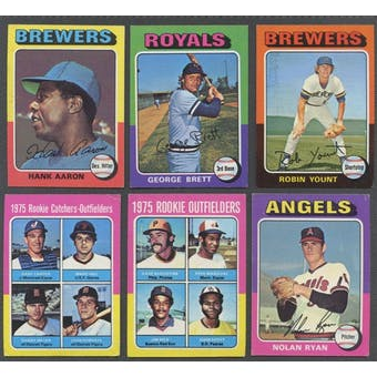 1975 Topps Mini Baseball Complete Set (NM-MT condition)