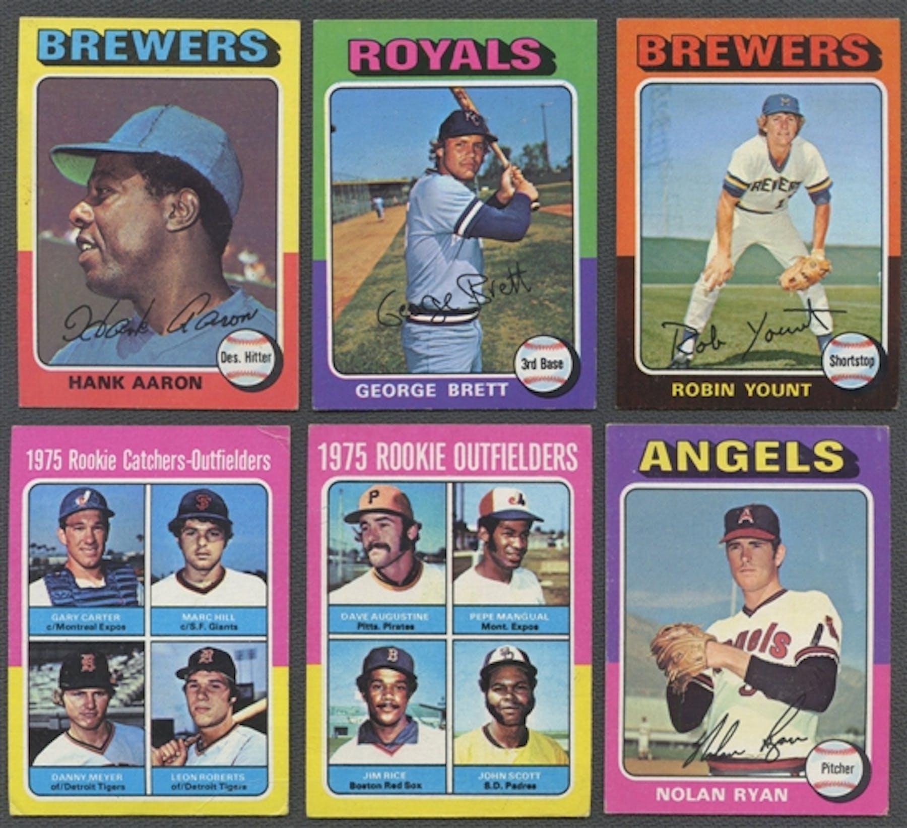 1975 Topps Mini Baseball Complete Set Nm Mt Condition