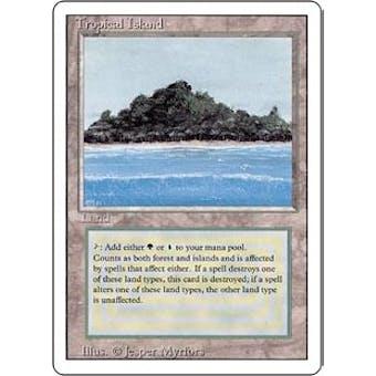 Magic the Gathering 3rd Ed (Revised) Single Tropical Island - NEAR MINT (NM)