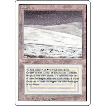 Magic the Gathering 3rd Ed (Revised) Single Tundra - NEAR MINT (NM) Sick Deal Pricing