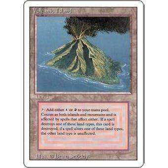 Magic the Gathering 3rd Ed (Revised) Single Volcanic Island - NEAR MINT (NM)
