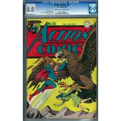 Action Comics #82 CGC 8.0 (C-OW) *1160250008*