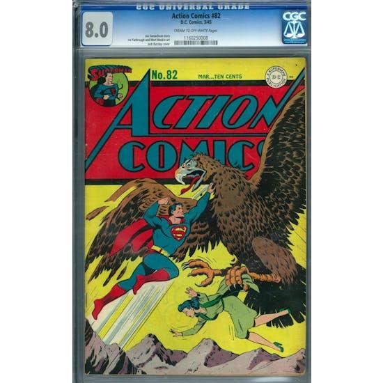 Action Comics #82 CGC 8.0 (C-OW) *1160250008*
