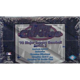1998 Topps Chrome Series 2 Baseball Hobby Box