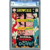 Showcase #75 CGC 7.0 (W) *1169700030*