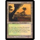 Magic the Gathering Onslaught Single Windswept Heath - SLIGHT PLAY (SP)