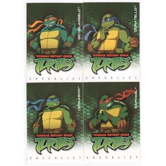 Teenage Mutant Ninja Turtles Set 1-125 (2003 Fleer)