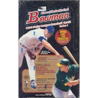 1999 Bowman Series 1 Baseball Hobby Box