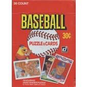 1984 Donruss Baseball Wax Box (Reed Buy)