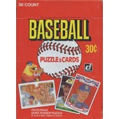 1984 Donruss Baseball Wax Box (Reed Buy)