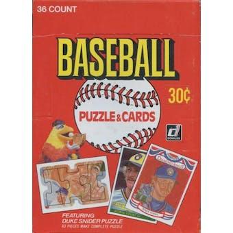 1984 Donruss Baseball Wax Box