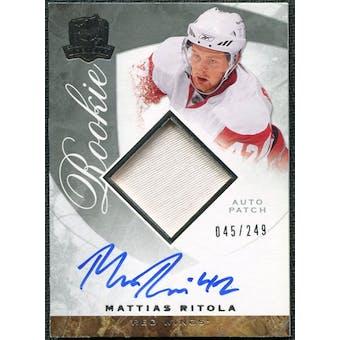 2008/09 Upper Deck The Cup #100 Mattias Ritola Rookie Patch Auto /249