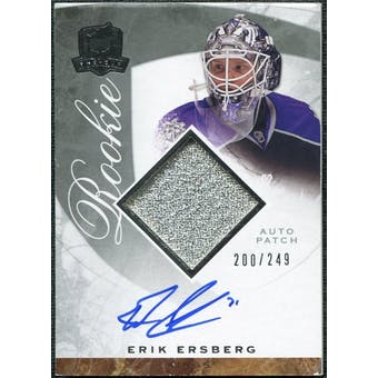 2008/09 Upper Deck The Cup #109 Erik Ersberg Rookie Patch Auto /249