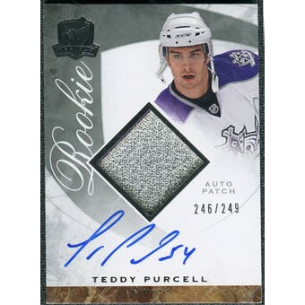 2008/09 Upper Deck The Cup #110 Teddy Purcell Rookie Patch Auto /249