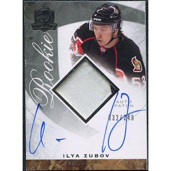 2008/09 Upper Deck The Cup #124 Ilya Zubov Rookie Patch Auto /249