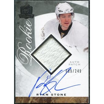 2008/09 Upper Deck The Cup #133 Ryan Stone Rookie Patch Auto /249