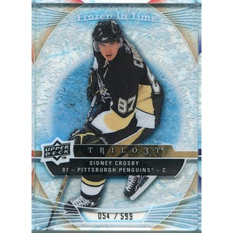 2009/10 Upper Deck Trilogy #118 Sidney Crosby FIT /599