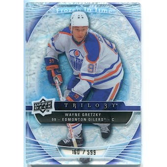 2009/10 Upper Deck Trilogy #120 Wayne Gretzky FIT /599