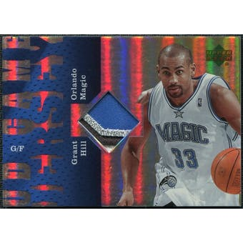 2006/07 Upper Deck UD Reserve Game Patches #GH Grant Hill