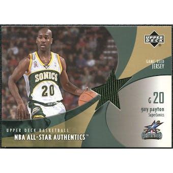 2002/03 Upper Deck All-Star Authentics Jerseys #GPAJ Gary Payton SP /45