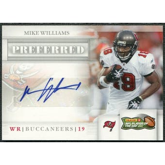 2011 Panini Player of the Day Autographs #MW Mike Williams Buccaneers