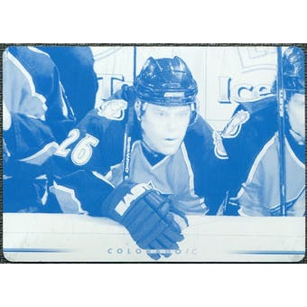 2007/08 Upper Deck Printing Plates Cyan #60 Paul Stastny 1/1