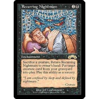 Magic the Gathering Exodus Single Recurring Nightmare - NEAR MINT (NM)