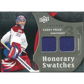 2009/10 Upper Deck Trilogy Honorary Swatches #HSCP Carey Price