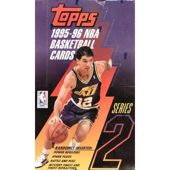 1995/96 Topps Series 2 Basketball Hobby Box