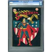 Superman #14 CGC 8.0 (OW-W) *1196823001*